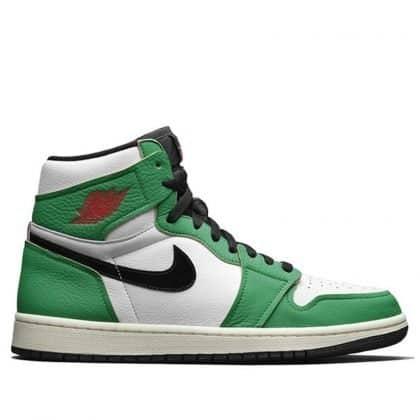 jordan1 lucky green